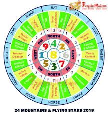 Chinese Element Year Chart Feng Shui 2019