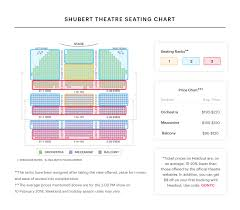 Shubert Theatre Seating Chart Hello Dolly Guide