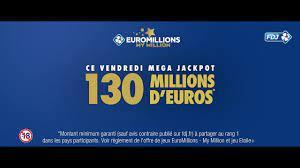 Méga Jackpot EuroMillions – My Million du 20 novembre