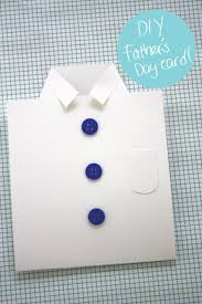 best diy fathers day cards diy shirt father s day card easy card projects to
