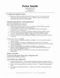 Senior Qa Engineer Sample Resume Impressive Quality Assurance Engineer Resume Qa Automation Engineer Resume