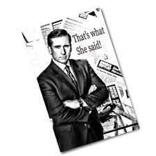 the office poster. The Office Michael Scott That\u0027s What She Said Poster - 2 Sizes Available