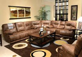 Wonderful Light Brown Leather Sectional Leather Furniture Stunning