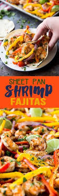 sheet pan shrimp fajitas sheet pan shrimp fajitas recipe sheet pan fajitas and bell pepper