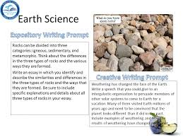 earth science essay prompts research paper topics about environmental and earth sciences