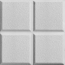 Armstrong Decorative Ceiling Tiles Shop Armstrong 100Pack Cascade Homestyle Ceiling Tile Panel Common 31
