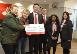 santander bank jobs uttlesford buffy bus fundraiser proves just the ticket as santander