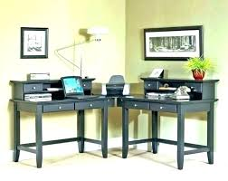 dual office desk. Dual Desk Home Office Two 2 Person Computer Full Image For N