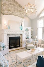the fireplace inspiring family home interiors the family room cabinet paint color is benjamin moore white dove