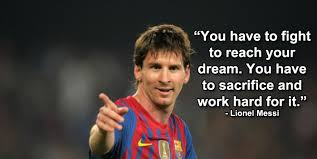 Lionel Messi Quotes Impressive Success Comes To Those Who Wait Will You Wait For It