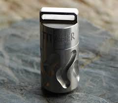 Titaner Design Kapsel Passend Für Zb Cr123 Wasserdicht