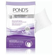 pond s moistureclean evening soothe makeup remover wipes 28 ct walmart com