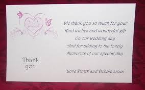Wedding Gift Thank You Cards Uk