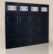 black garage doorsGlamming Up the Garage Clopay Introduces Steel Garage Doors in