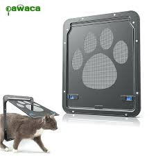 cat door window new pet screen dog footprint pattern flap safe glass installation sydney
