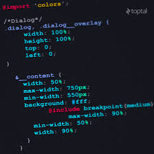 Sass Tutorial On How To Write Better Css Code Toptal