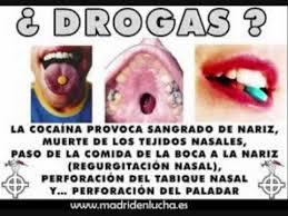 Resultado de imagen para Drogas NO