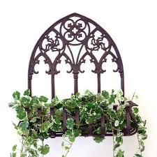 metal wall planters wall planter