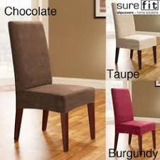 overstock slipcovers make your dining room chairs look diffe and brand new covers fit