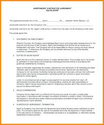 Independent Sales Contractor Agreement Template – Pocketapps