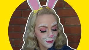 easter makeup tutorial bunny