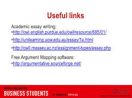 week essays reasoned arguments to support a thesis statement   owl english purdue edu owl resource 685 01 unilearning uow edu au essay 1a html owll massey ac nz assignment types essay php