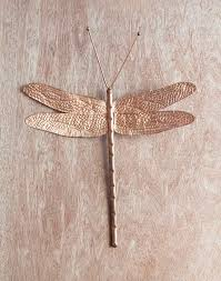 Dragonflies Wall Decor Wall Dccor Copper