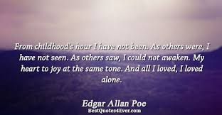 Edgar Allan Poe Love Quotes New Edgar Allan Poe Quotes Best Quotes Ever