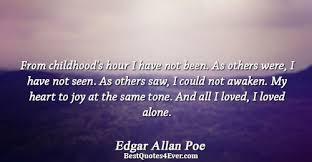 Edgar Allan Poe Life Quotes Best Edgar Allan Poe Quotes Best Quotes Ever
