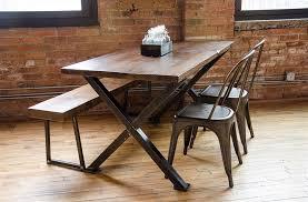 brooklyn modern rustic reclaimed wood bench brooklyn modern rustic reclaimed wood