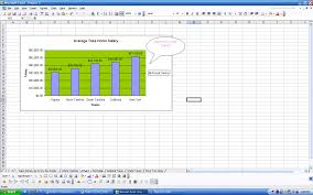 project iii ms excel hint use the chart wizard use the column chart type choose appropriate chart title axes titles and data labels change the background color of