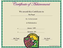 achievement awards for elementary students digi traffic page 138 of 167 certificates gift certificate word