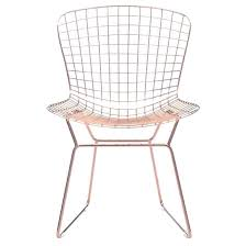 wire desk chair wire dining chair in rose gold set of 2 wirecutter office chair