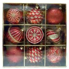 Amazoncom Old World Mini Christmas Ornaments 9 Piece Set Vintage Christmas Ornament Sets