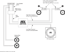 system diagram examples mtx audio serious about sound® single amp system w o rear