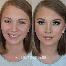 pageant event makeup transformation