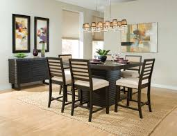Homelegance Miles Counter Height Dining Set Dark Espresso