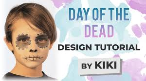 day of the dead face painting tutorial