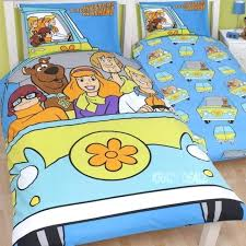 scooby doo bed set mystery machine single panel duvet cover bed set gift scooby doo bed