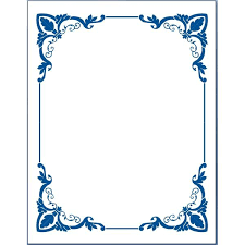 word picture frame template free microsoft borders and frames wow image results