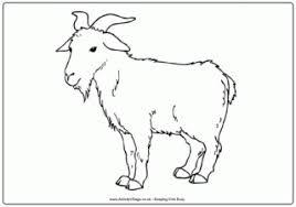 Small Picture Farm Animal Colouring Pages for Kids