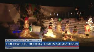 The Hollywild Animal Park Has Their Millions Of Lights Shining Bright For The Public To See