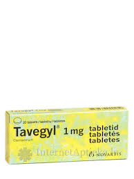 <b>Tavegyl</b> (<b>тавегил</b>), <b>20</b> таблеток - InternetAptieka.lv