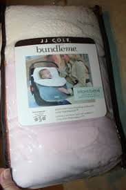 bundle me infant pink car seat stroller cover therma plush blanket jj cole new 1 of 10 see more