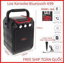 Loa Hat Karaoke Bluetooth Cam Tay Loa K99 Hozito Cao Cấp - Loa Karaoke Mini  Tặng Mic Di Động Bán Chạy Nhất Năm 2020