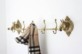 Vintage Brass Coat Rack Vintage Brass Horse Head Coat Rack Estateeclectic Etsy DMA Homes 48