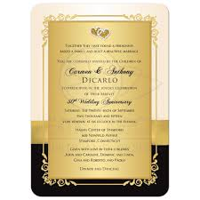 Golden Anniversary Invitations Barca Fontanacountryinn Com