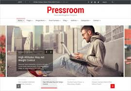 Newspaper Web Template Free News Channel Html5 Website Templates Themes Webinsect
