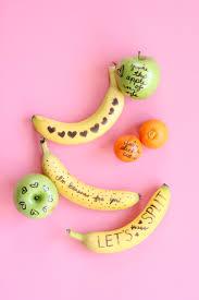 Valentine Fruit Fruit Doodle Valentines