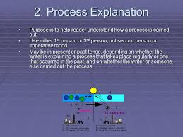 the process essay ppt video online  process explanation purpose is to help reader understand how a process is carried out